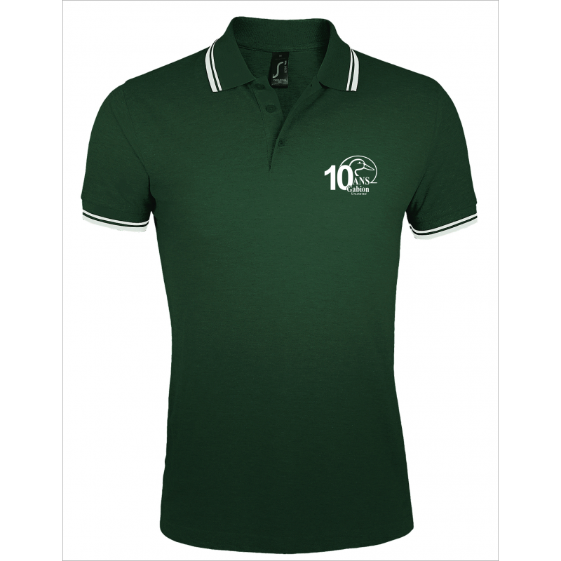 Polo 10 ans Gabion Unlimited