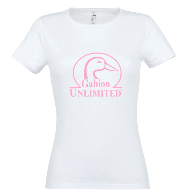 T-shirt femme blanc GU