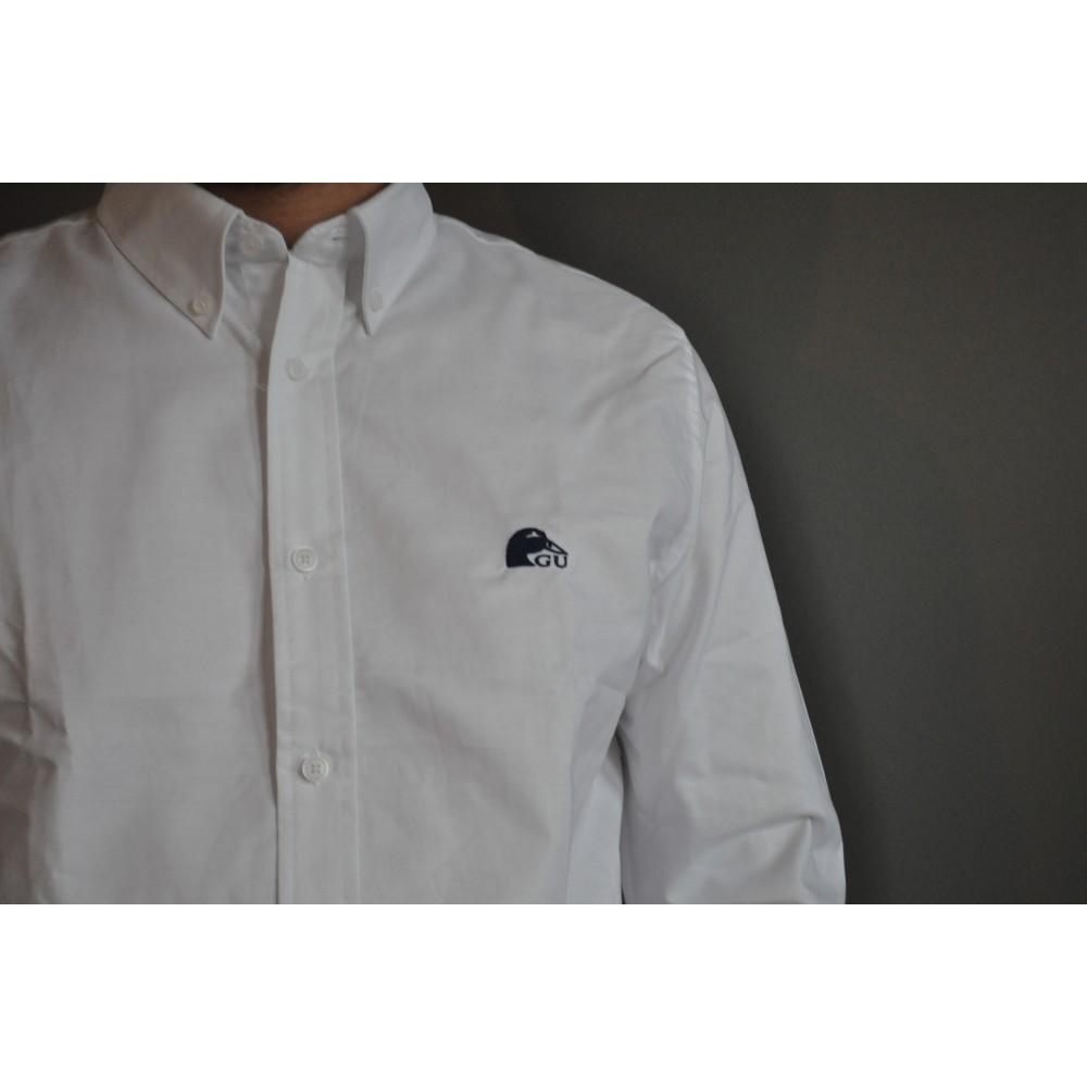 142ab723d42aa Chemise blanche pour homme en coton par Gabion Unlimited