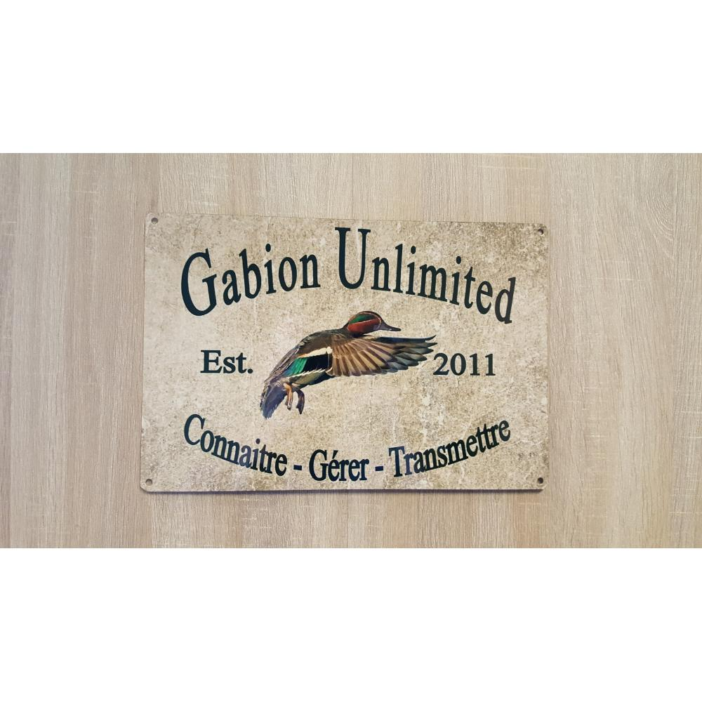 Plaque Gabion Unlimited Collector 2018