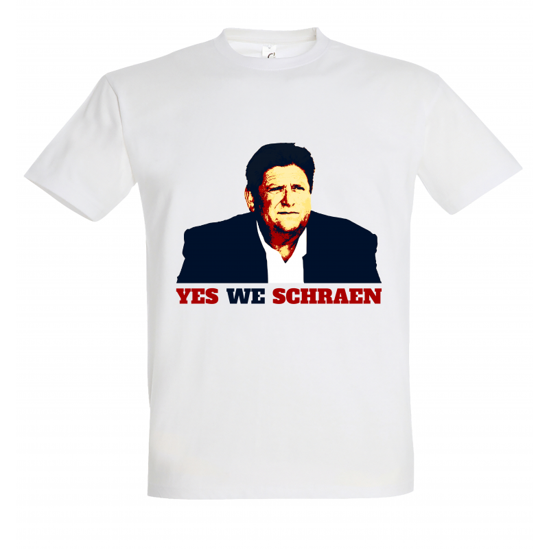 T-shirt Yes We Schraen