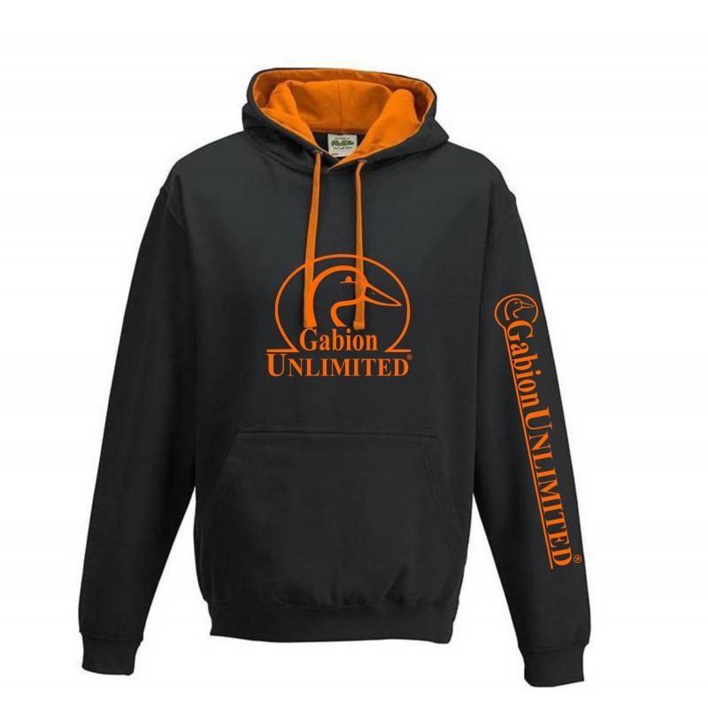 Pull noir et orange Gabion Unlimited
