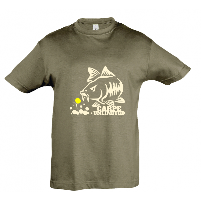 T-shirt enfant carpe unlimited