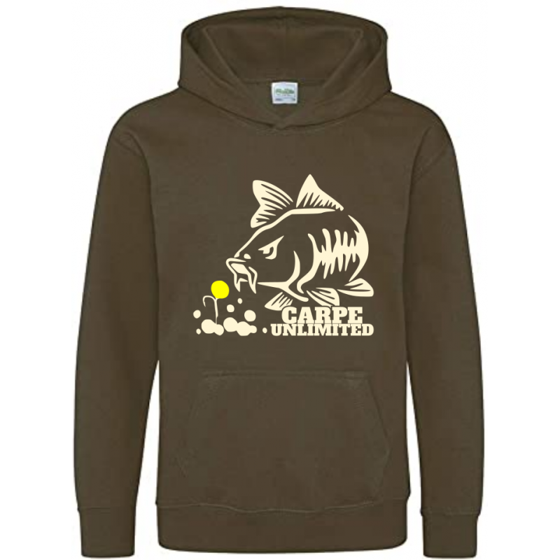 Sweat Enfant carpe unlimited