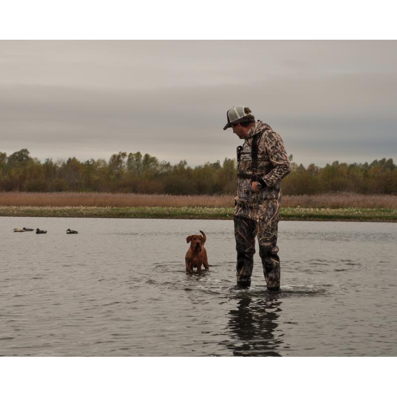 Waders Mossy Oak Launches Shadow Grass habitat